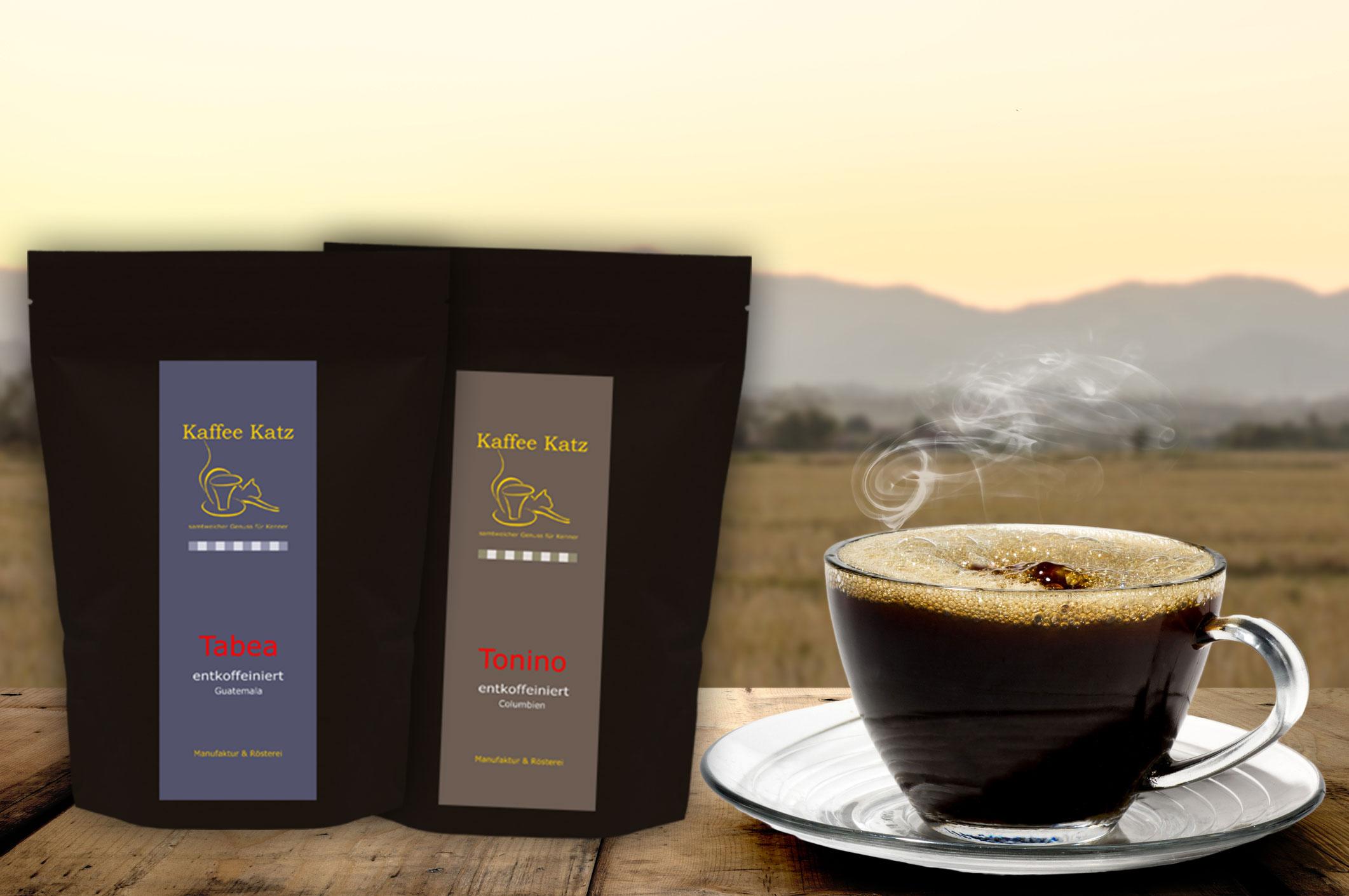 Geschenk Set 2 - entkoffeiniert Kaffee/Espresso